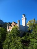 Castelo de Hohenschwangau Foto de Stock