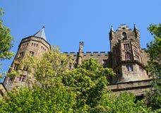Castelo de Hohenzollern fotografia de stock