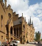 Castelo de Hohenzollern Fotos de Stock Royalty Free