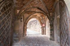 Castelo de Hohenzollern, Alemanha fotos de stock