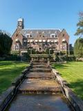 Castelo de Hooge Vuursche nos Países Baixos Foto de Stock