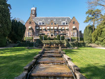 Castelo de Hooge Vuursche nos Países Baixos Imagens de Stock Royalty Free