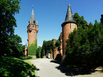 Castelo de Hradec nad Moravici Imagem de Stock Royalty Free