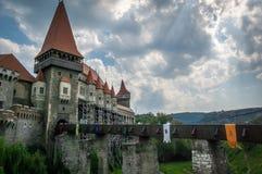 Castelo de Hunyad Imagem de Stock