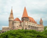 Castelo de Hunyad Castelo medieval na Transilvânia Vajdahunyad Fotografia de Stock Royalty Free