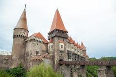 Castelo de Hunyad Castelo medieval na Transilvânia Vajdahunyad Imagem de Stock