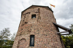 Castelo de Huys Dever em Lisse, Holanda - os Países Baixos Imagem de Stock