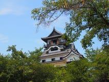 Castelo de Inuyama em Aichi, Japão Foto de Stock