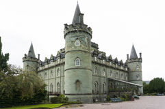 Castelo de Inveraray, Inveraray, Argyle, Escócia 28 de agosto de 2015 Imagem de Stock Royalty Free