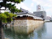 Castelo de Japão Hiroshima Fotos de Stock Royalty Free