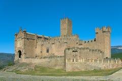 Castelo de Javier Imagem de Stock