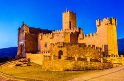 Castelo de Javier imagem de stock royalty free