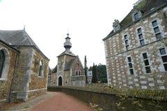 Castelo de Jehay Imagem de Stock Royalty Free