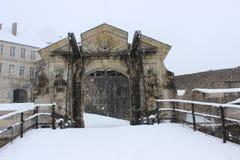 Castelo de joux em França Fotos de Stock