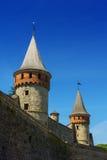 Castelo de Kamyanets Podilsky Fotografia de Stock