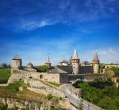 Castelo de Kamyanets Podilsky Imagens de Stock
