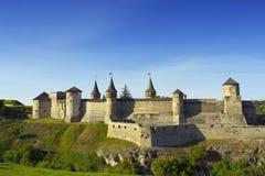Castelo de Kamyanets Podilsky Imagem de Stock