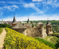 Castelo de Kamyanets Podilsky Foto de Stock