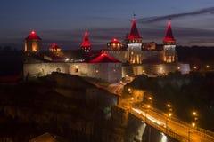 Castelo de Kamyanets Podilsky Fotos de Stock