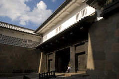 Castelo de Kanazawa, Kanazawa, Japão Fotografia de Stock