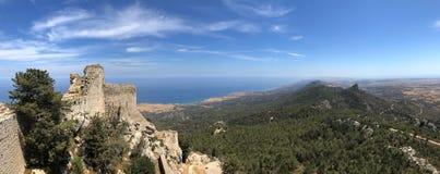 Castelo de Kantara - turco Chipre Foto de Stock