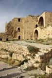 Castelo de Karak em Jordânia imagens de stock royalty free