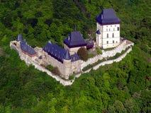 Castelo de Karlstejn Fotos de Stock