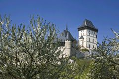 Castelo de Karlstejn Fotografia de Stock Royalty Free