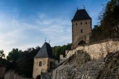 Castelo de Karlstejn, CZ, UE Foto de Stock