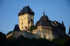 Castelo de Karlstejn, CZ, UE Imagem de Stock Royalty Free