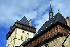Castelo de Karlstejn, república checa Foto de Stock Royalty Free