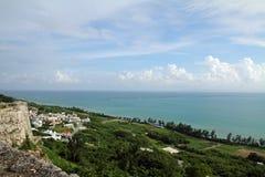 Castelo de Katsuren em Okinawa imagens de stock
