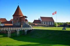 Castelo de Kaunas, Lituânia Imagens de Stock Royalty Free