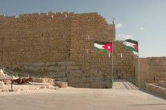 Castelo de Kerak, Jordão Imagens de Stock Royalty Free