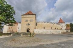Castelo de Kezmarok fotografia de stock royalty free