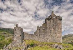 Castelo 02 de Kilchurn Fotografia de Stock