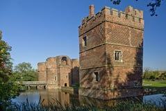 Castelo de Kirby Muxloe Imagens de Stock Royalty Free