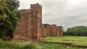 Castelo de Kirby Muxloe Fotos de Stock Royalty Free