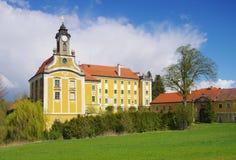 Castelo de Kirchberg am Walde fotos de stock royalty free