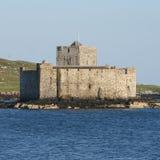 Castelo de Kisimul, Barra Fotografia de Stock