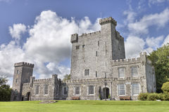 Castelo de Knappogue em Co. Clare, Ireland. Fotos de Stock