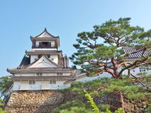 Castelo de Kochi na prefeitura de Kochi, Japão Fotografia de Stock Royalty Free