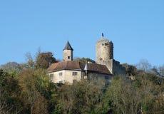 Castelo de Krautheim Foto de Stock