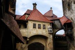 Castelo de Kreuzenstein do Burg fotografia de stock royalty free