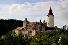 Castelo de Krivoklat Fotografia de Stock