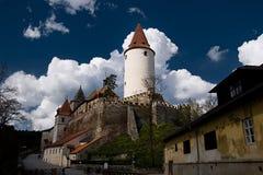 Castelo de Krivoklat imagem de stock royalty free