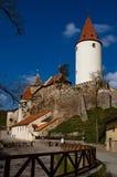 Castelo de Krivoklat imagens de stock