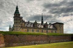 Castelo de Kronborg Foto de Stock