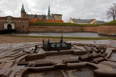 Castelo de Kronborg em Dinamarca Fotografia de Stock Royalty Free