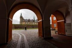 Castelo de Kronborg em Dinamarca Imagens de Stock Royalty Free